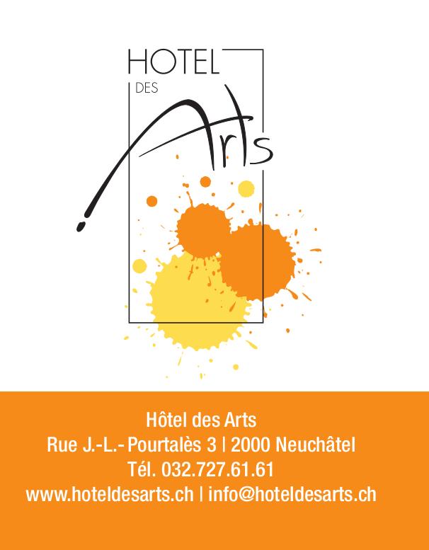 Hôtel des Arts, Super 8, Neuchâtel